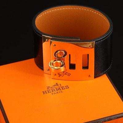 "Hermès ""Kelly Dog"" Wide Bracelet"