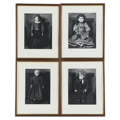 Robert Szesko Silver Gelatin Photographs of Antique Porcelain Dolls