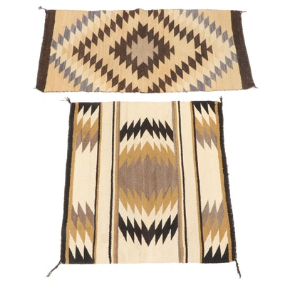 Navajo Eastern Reservation Accent Rugs, Mid - Late 20th Century
