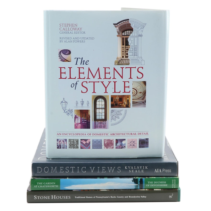 """""""The Elements of Style"""" and More Art and Architecture Reference Books"""