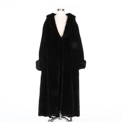 Alfred Sung Mink Fur Full-Length Coat for Evans Furs at Lazarus