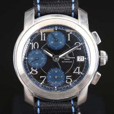 Baume & Mercier Capeland Stainless Steel Chronograph Wristwatch