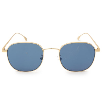 Paul Smith Arnold Gold Tone Frame Sunglasses with Case