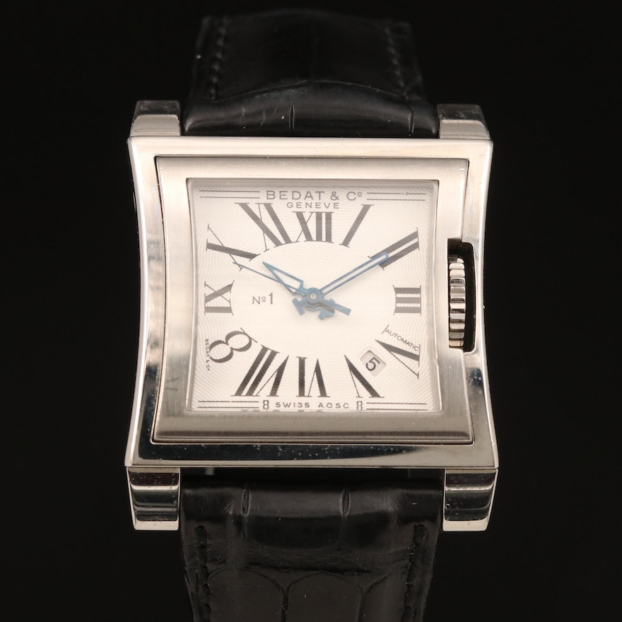 Swiss Bedat & Co. No.1 Automatic Wristwatch with Date