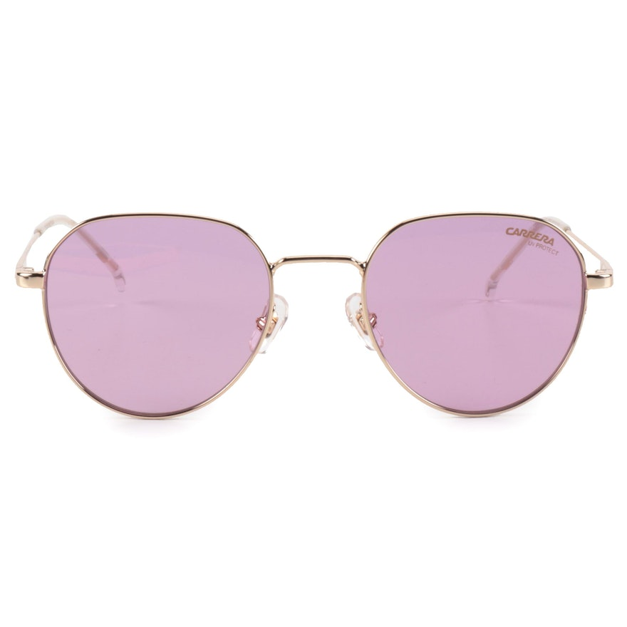 Carrera 2015T/S Round Sunglasses with Case