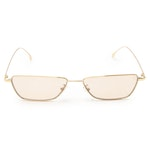 Paul Smith Gold Tone Sunglasses with Light Brown Lenses and Includes Case