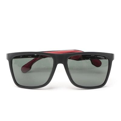 Carrera 5049/FS Black/Red Sunglasses with Case