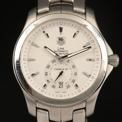 TAG Heuer Link Automatic Stainless Steel Wristwatch