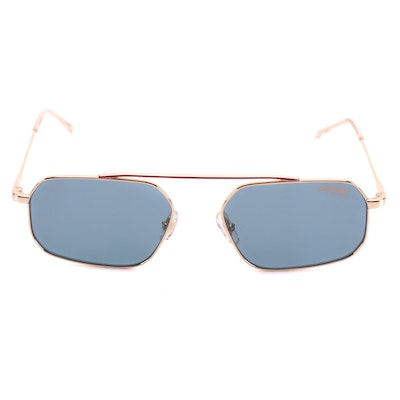 Carrera 2016T/S Cnoku Blue Tinted Rectangular Glasses with Case