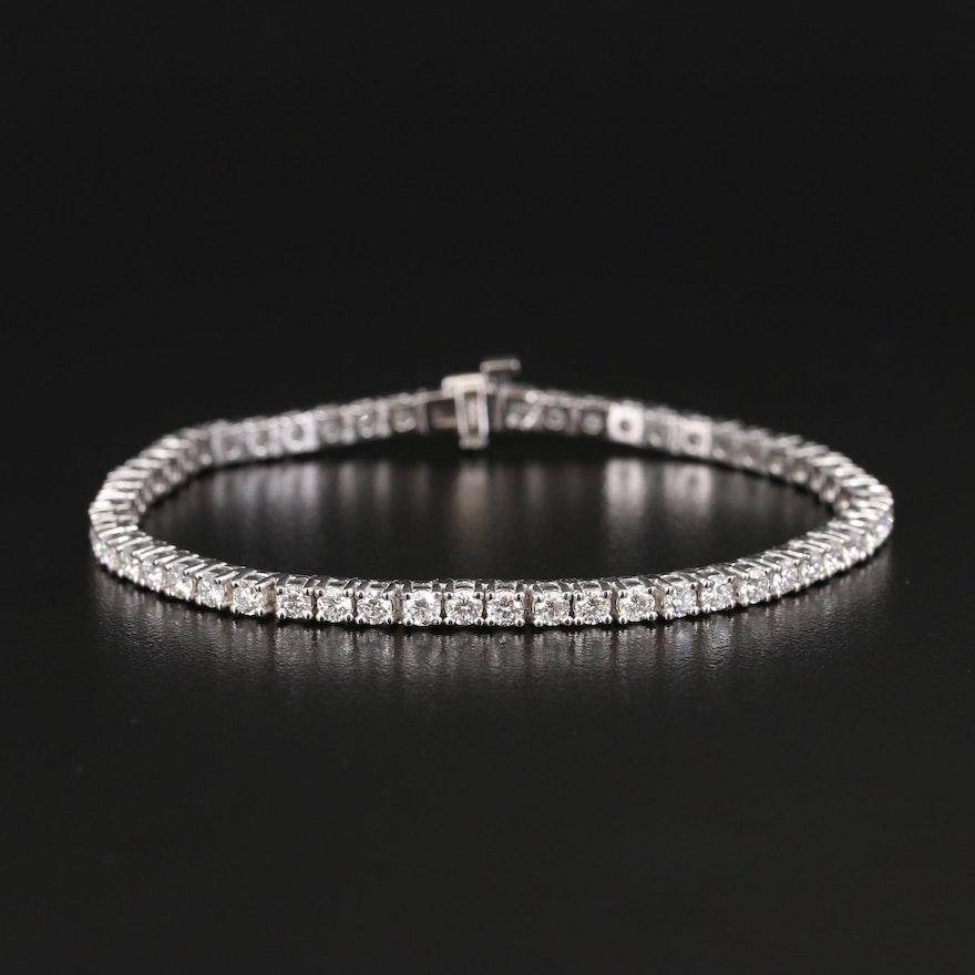 14K 5.53 CTW Diamond Tennis Bracelet