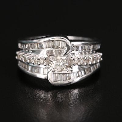 14K 1.00 CTW Diamond Ring