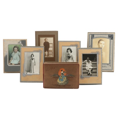Album of Silver Gelatin Family Photographs and Collection of Formal Portraits