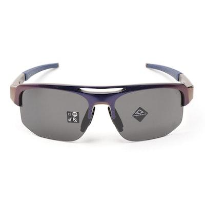 Oakley Maverick Iridescent Sport Sunglasses with Case