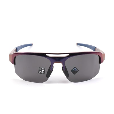 Oakley Mercenary Wrap Sunglasses with Prizm Lenses with Case and Pouch