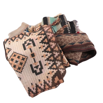 Woven Floor Mats and Decorative Embroidered Textiles