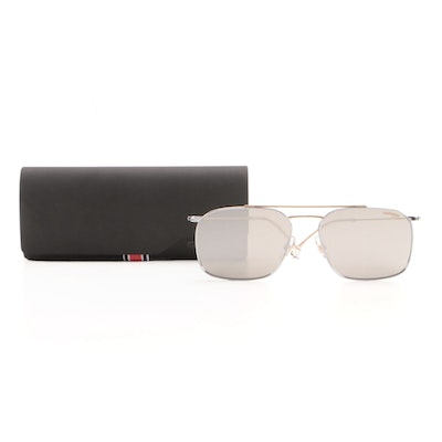 Carrera 186/S Gold Tone and Palladium Plated Mirrored Sunglasses with Case