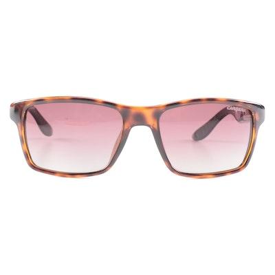 Carrera 8002 Havana Rectangular Sunglasses with Case