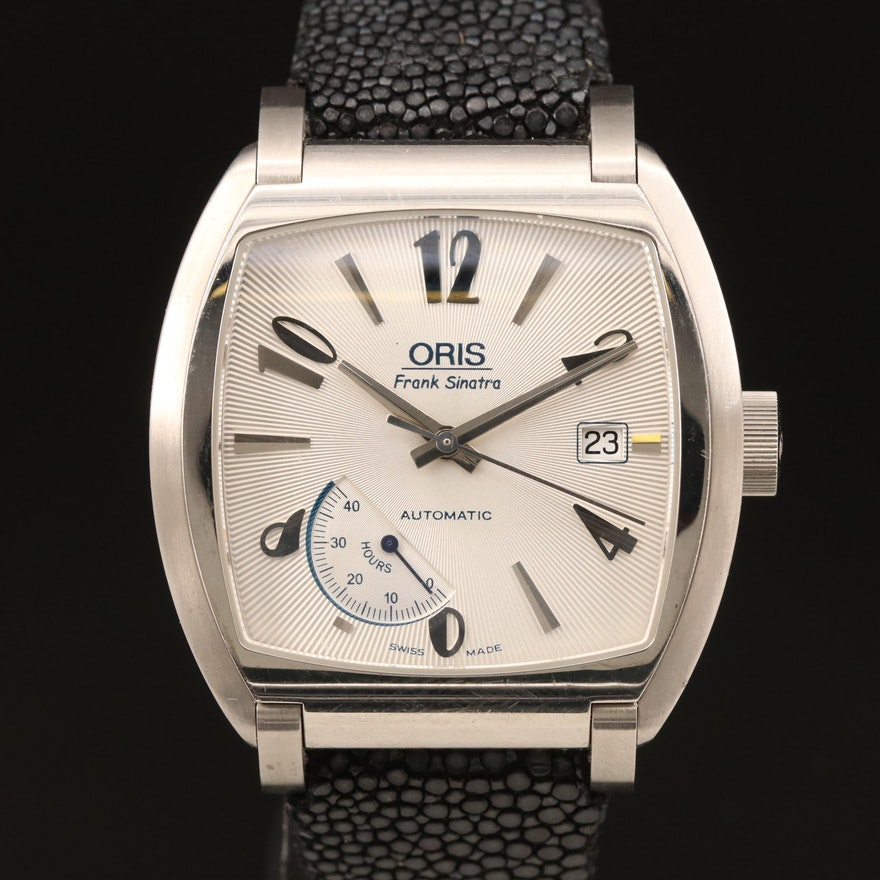 Stainless Steel Oris Frank Sinatra Automatic Wristwatch