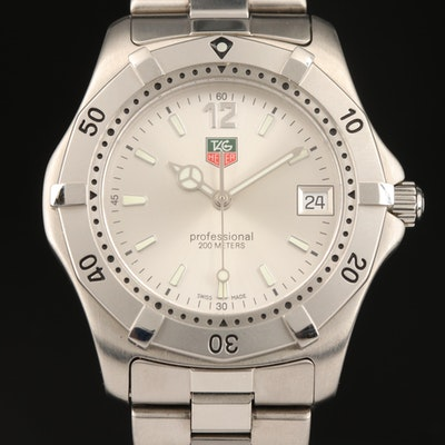 TAG Heuer 2000 Stainless Steel Quartz Wristwatch