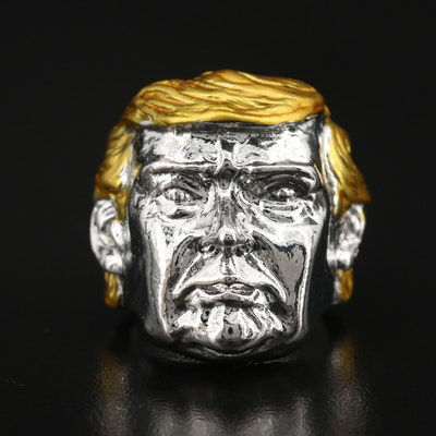 Donald Trump Figural Ring