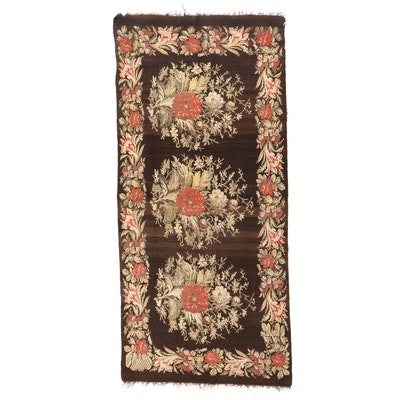 6'3 x 14'6 Handwoven Turkish Karabağ Kilim Long Rug
