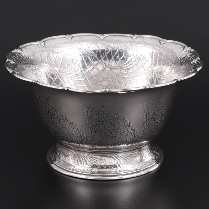 Tiffany & Co. Sterling Silver Caviar Bowl, Early 20th Century