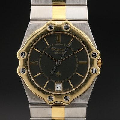 "Chopard ""St. Moritz"" 18K and Stainless Steel Quartz Wristwatch"