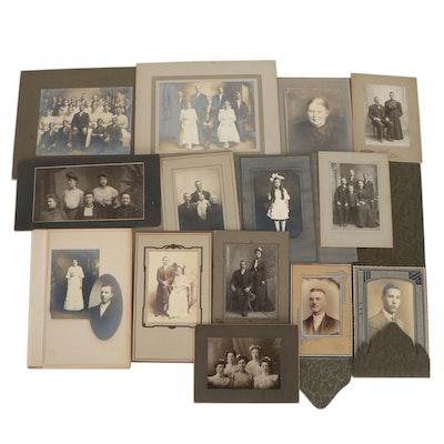Silver Gelatin Portraits, circa 1900