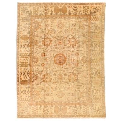 9'1 x 12'2 Hand-Knotted Pakistani Room Sized Rug