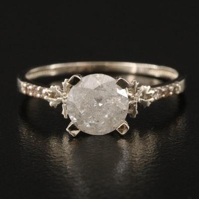 14K 1.31 CTW Diamond Ring