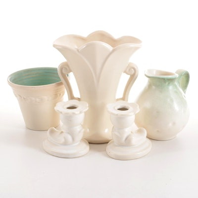 Royal Haeger, Red Wing and Other White Pottery