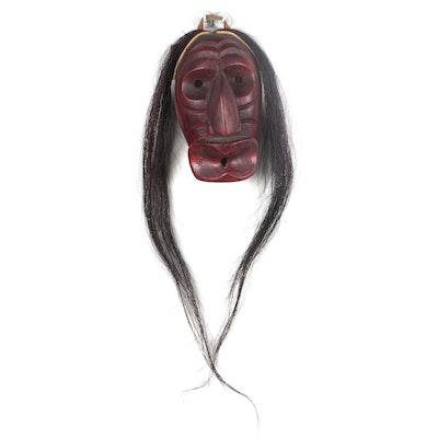 Honnaskwesakon Iroquois False Face Mask