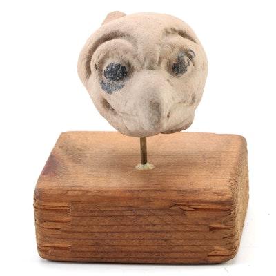 Veracruz Ceramic Bird Head, Pre-Columbian Mexico