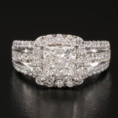 14K 2.48 CTW Diamond Ring