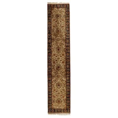 2'6 x 12'5 Hand-Knotted Indian Peshawar Carpet Runner