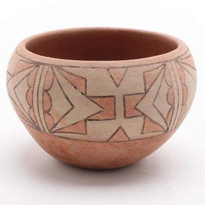 Helen Garcia Sandia Pueblo Earthenware Jar
