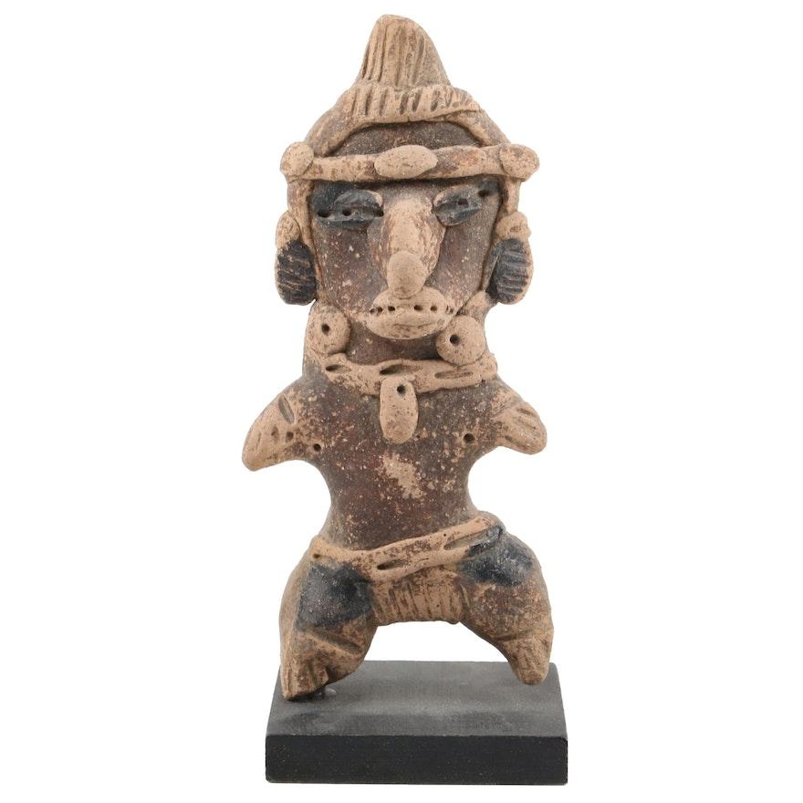 Remojadas Incised Eye Style Figure, Pre-Columbian Veracruz Mexico
