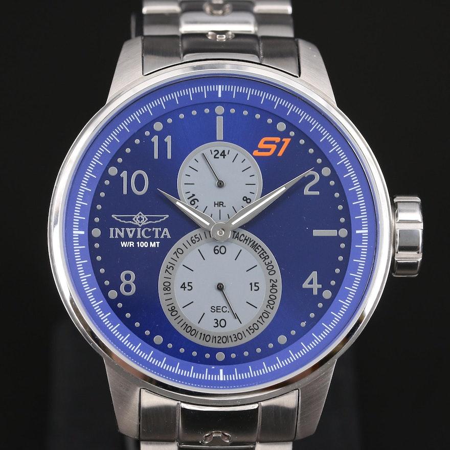 Invicta S1 Rally Stainless Steel Quartz Wristwatch
