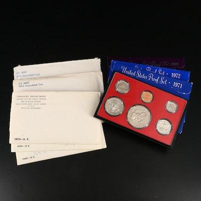 U.S. Mint Uncirculated Sets and Proof Sets