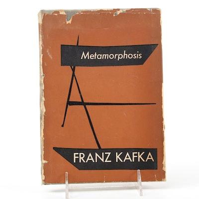 "First American Edition ""Metamorphosis"" by Franz Kafka, 1946"