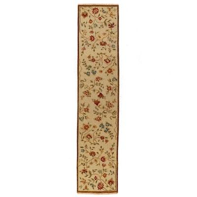 2'6 x 11'10 Handwoven Indian Soumak Carpet Runner