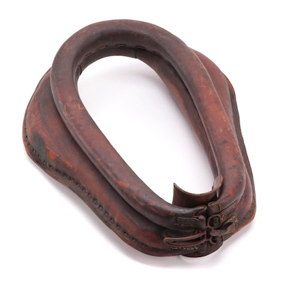 Weathered Leather Horse Collar