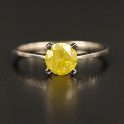 14K 1.05 CT Diamond Solitaire Ring
