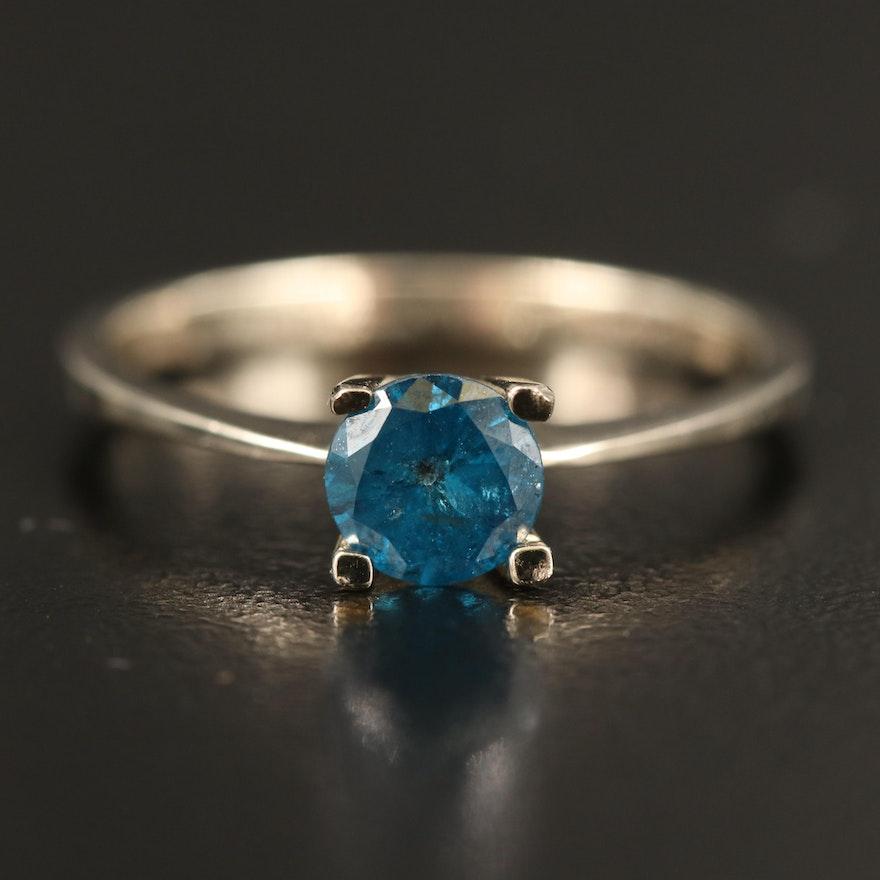 14K 0.55 CT Diamond Solitaire Ring