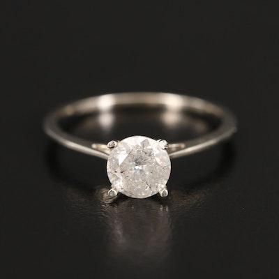 14K 1.03 CT Diamond Solitaire Ring