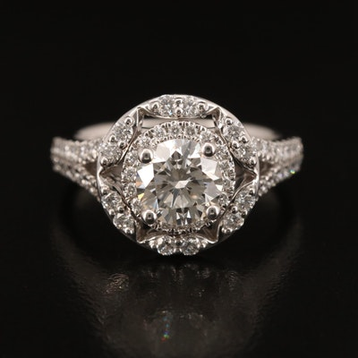 14K 2.07 CTW Diamond Ring