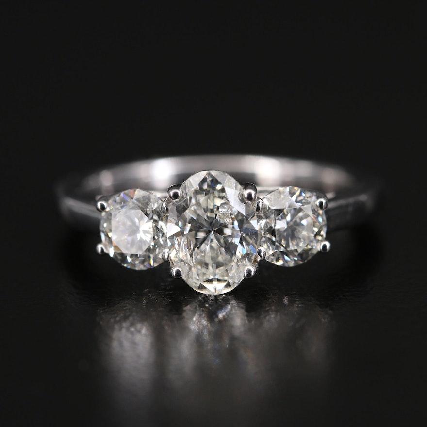 14K 2.05 CTW Diamond Ring