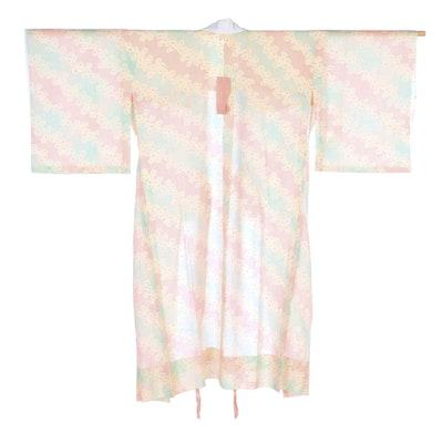 Kanoko Patterned Woven Silk Juban