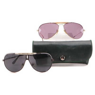 Bausch & Lomb Ray-Ban Prescription Aviator Sunglasses and Other Sunglasses