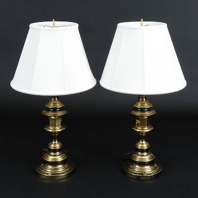 Brass Classical Table Lamps, Mid/Late 20th Century